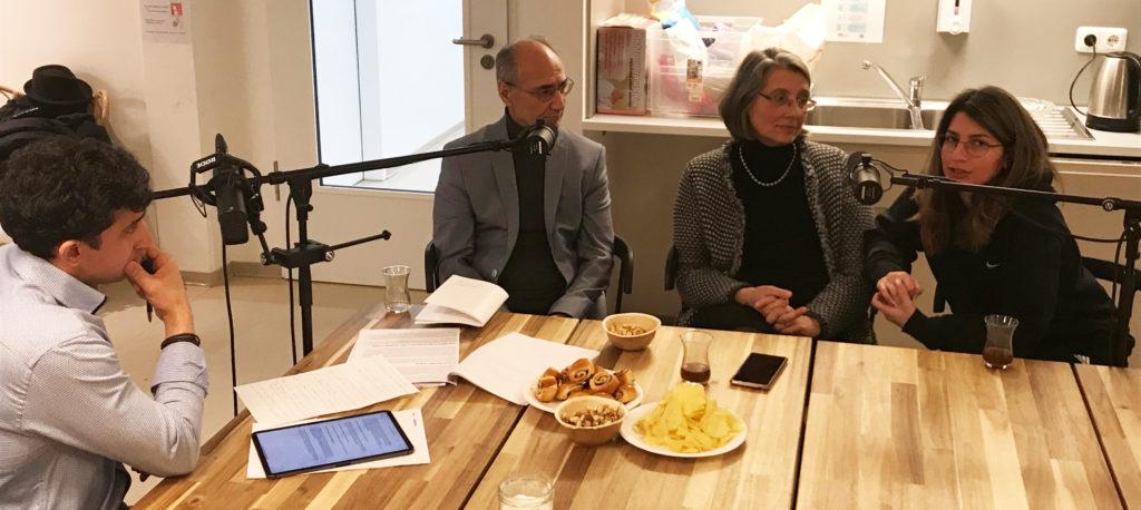 Behzad Nicoubin, Uta Schellenberger‐Nicoubin und Ulia Nicoubin