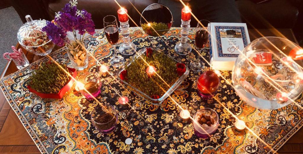Noroz-Tisch
