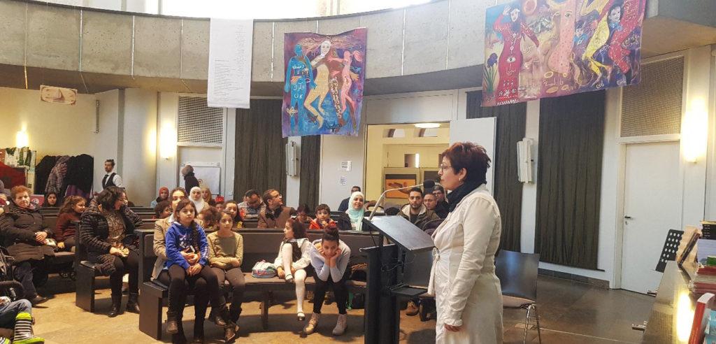 Veranstaltung Bibliomania in der Nazareth Kirche Berlin Neukölln